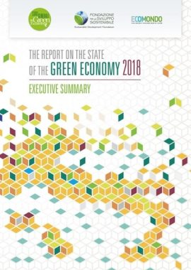 Report on the state of the green economy 2018 – Executive summary